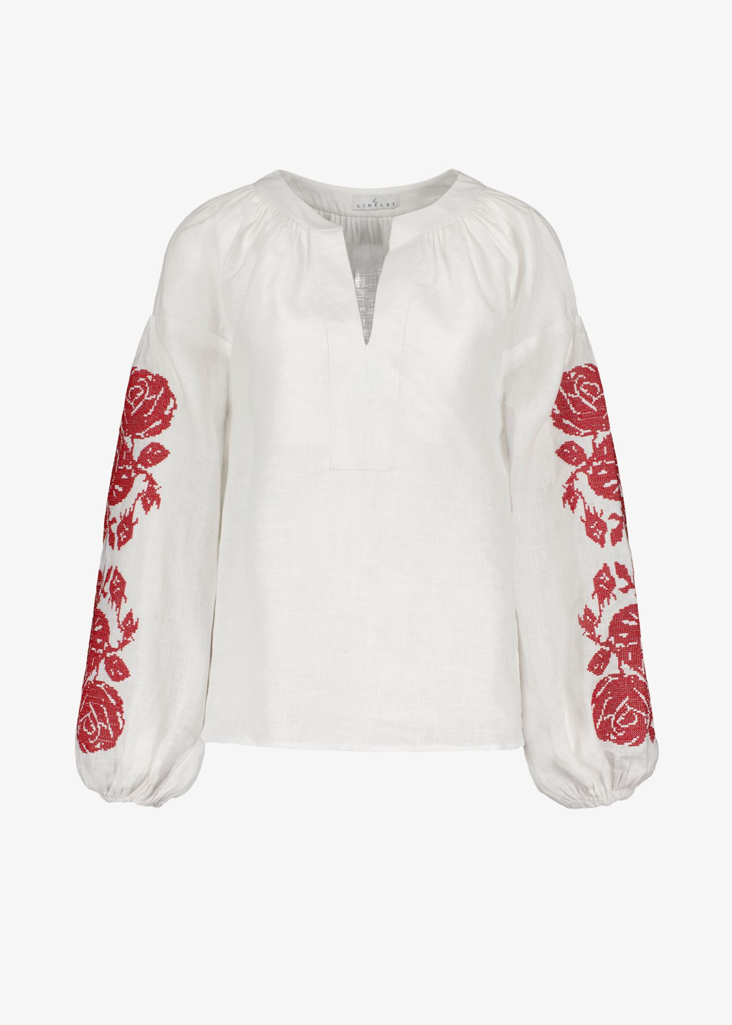 Schlupfbluse «India Blouse with embroidery»